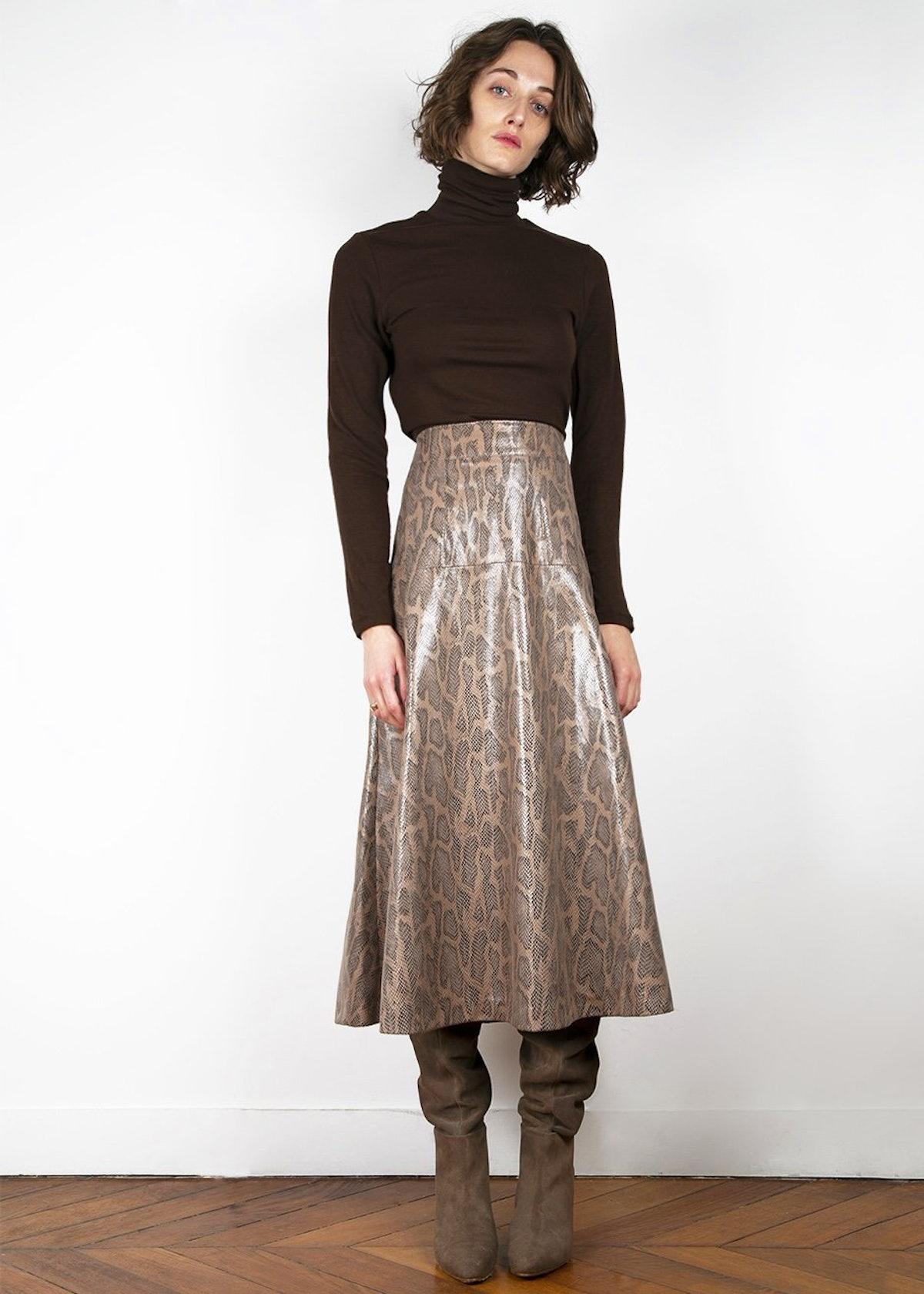 Python A-Line Skirt