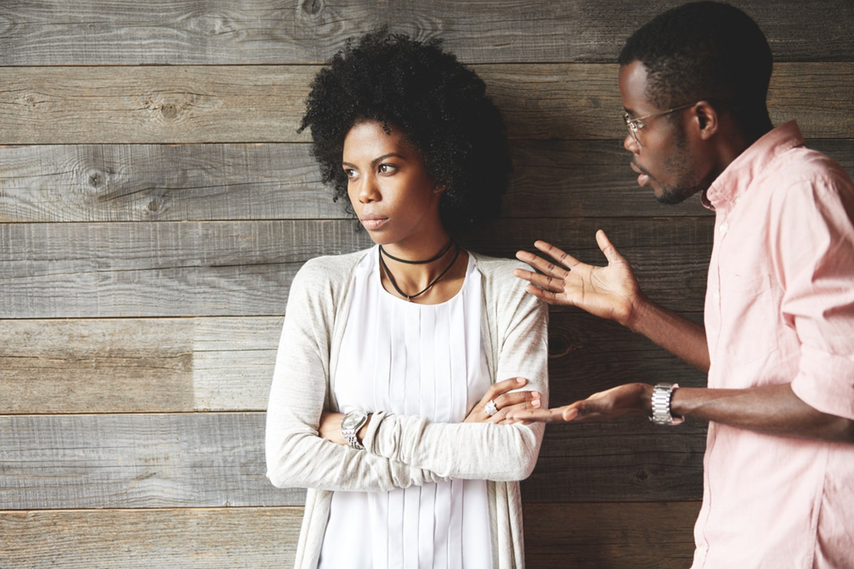 If you've fallen out of love with your partner, then they'll get on your nerves a lot.