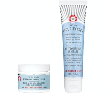 First Aid Beauty Cleanser & Ultra-Repair Hydra-Firm Cream