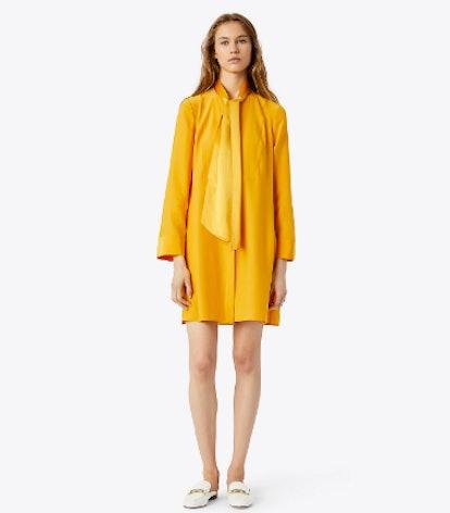 Sophia Dress in Golden Crest