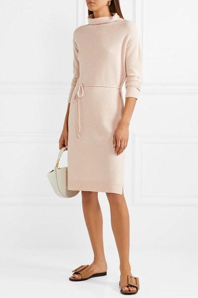 Wool And Cashmere-Blend Turtleneck Dress