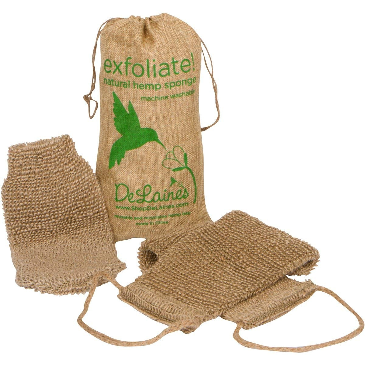 DeLaine's Kitchen and Bath Exfoliating Back and Body Scrubber