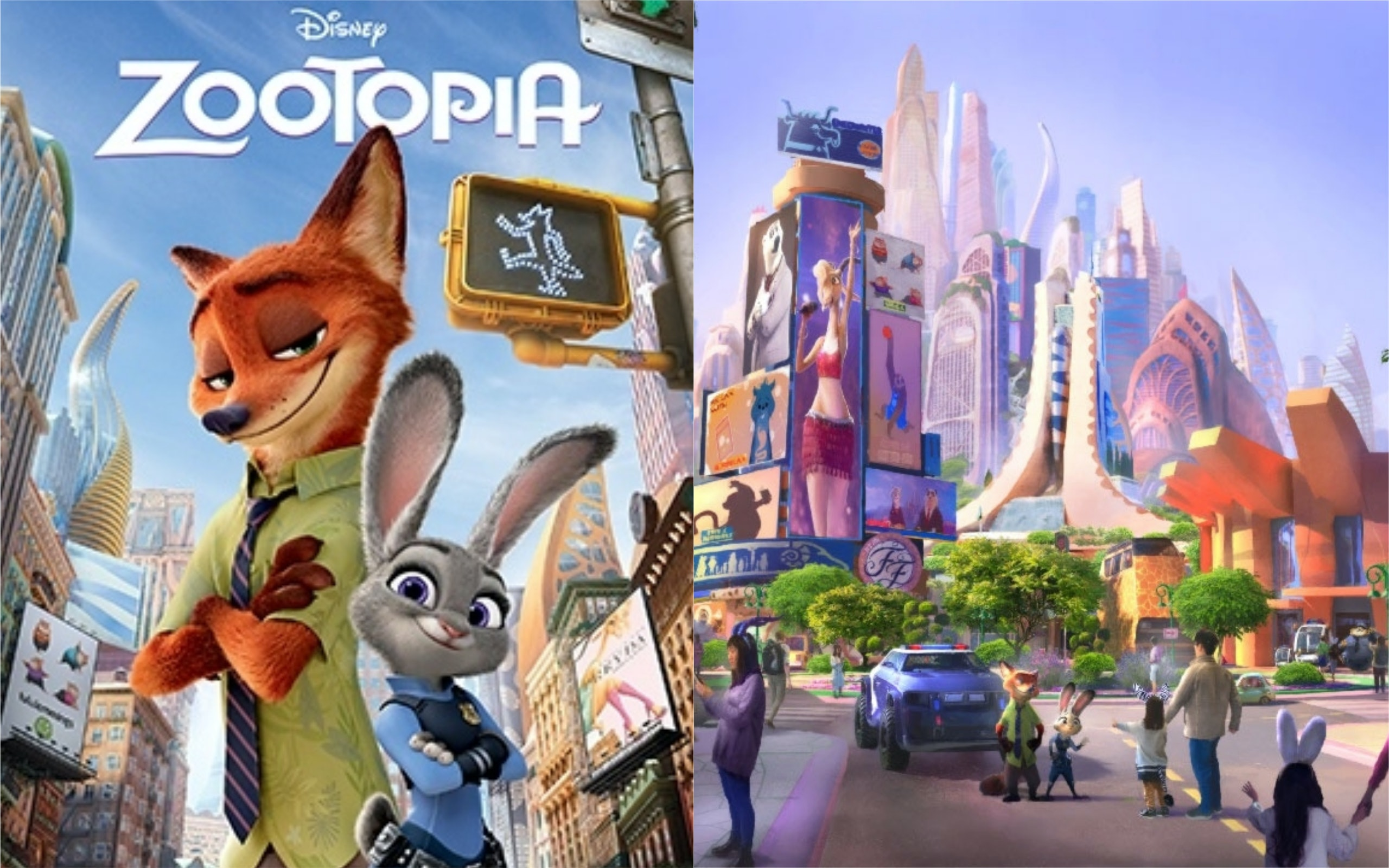 A 'Zootopia' World Is Coming T...