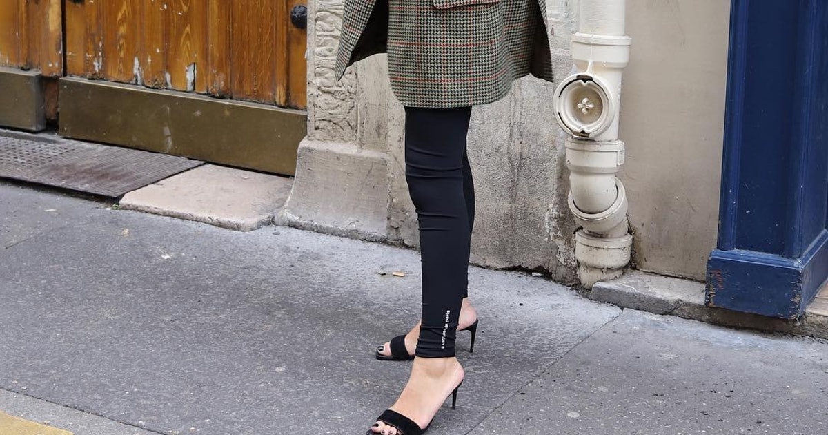 How To Wear Leggings In 2019 According To 5 Fashion Influencers