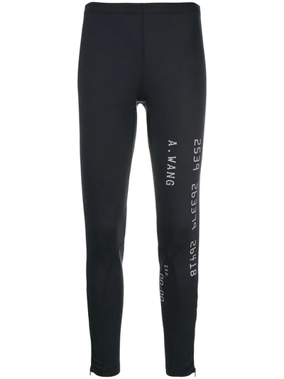 Logo Printed Leggings