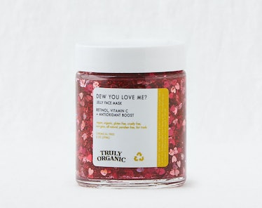Truly Organic Dew You Love me Jelly Glitter Face Mask
