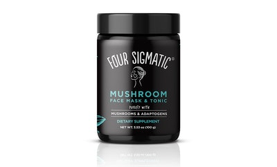 Mushroom Face Mask and Tonic