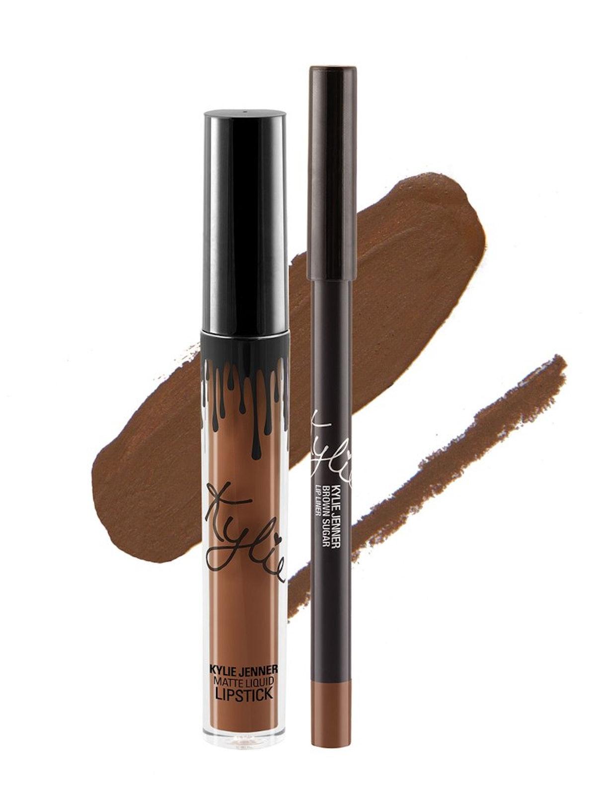 Kylie Cosmetics Brown Sugar Lip Kit