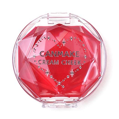 Canmake Cream Cheek in Clear Red Heart