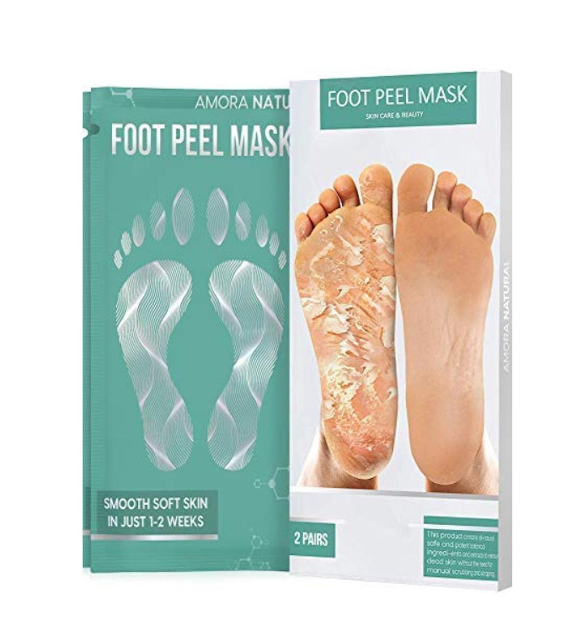 Amora Natural Foot Peel Mask