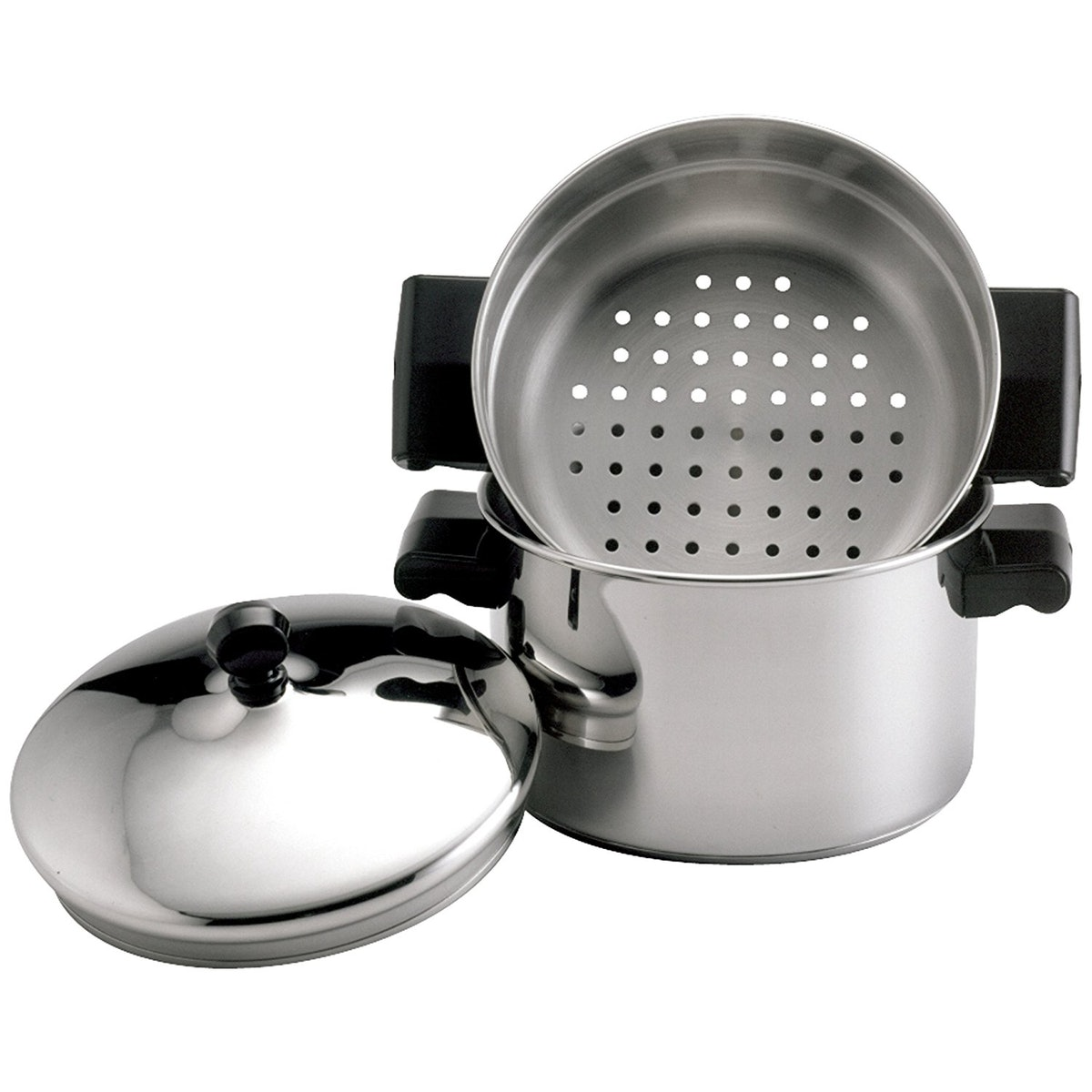 Farberware Classic Stainless Steel Stack 'n' Steam Saucepot and Steamer