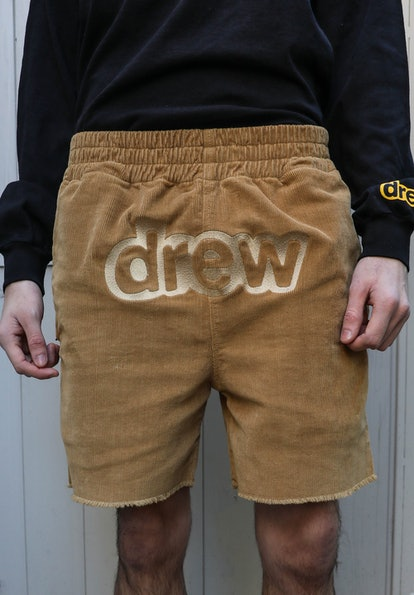 Chaz Corduroy Shorts - Camel