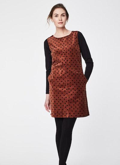 Thought Spot Organic Cotton Pinafore Dress