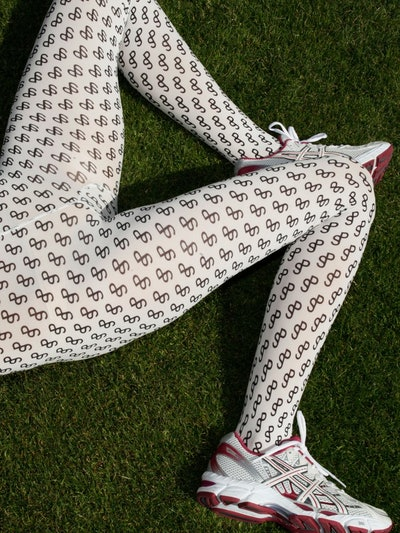 Slalom Logo Leggings
