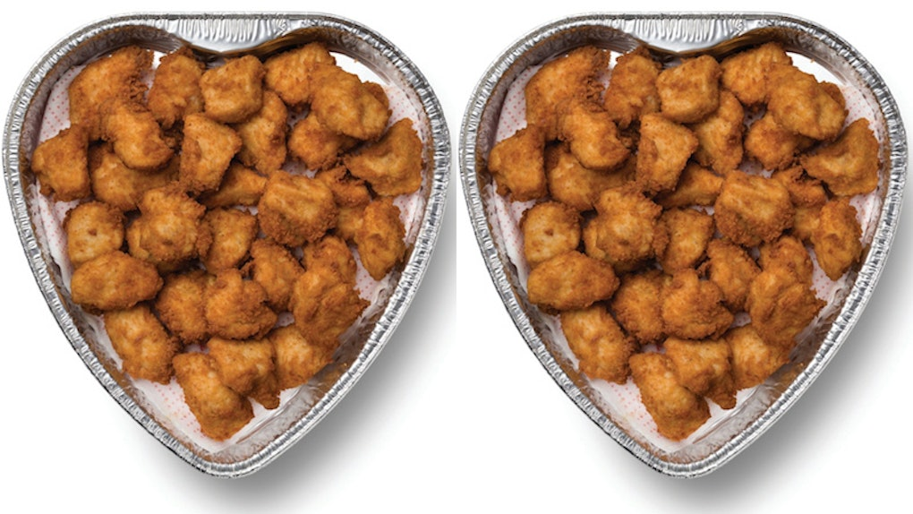 chick fil a s heart shaped nugget tray for valentine s day is a swoon worthy snack. Black Bedroom Furniture Sets. Home Design Ideas