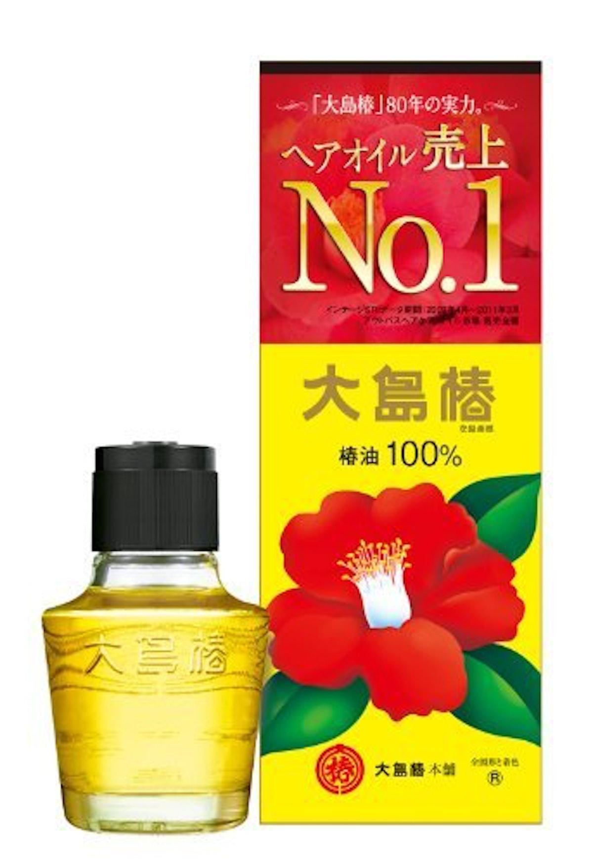 Oshima Tsubaki Camellia Hair Care Oil