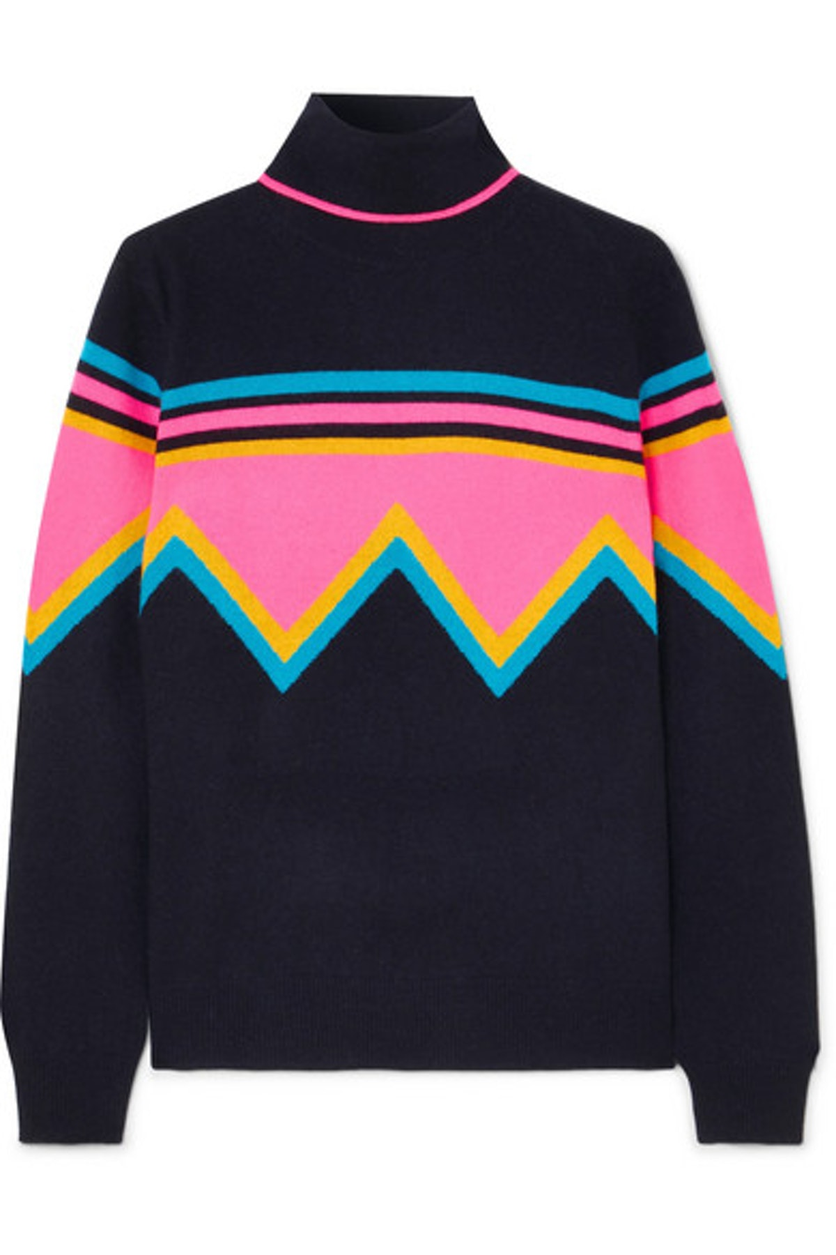 Chinti And Parker Cashmere And Wool-Blend Turtleneck Sweater
