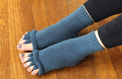 Triim Fitness Toe Separator Socks