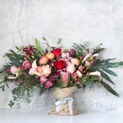 Big Love Burlap Wrapped Bouquet