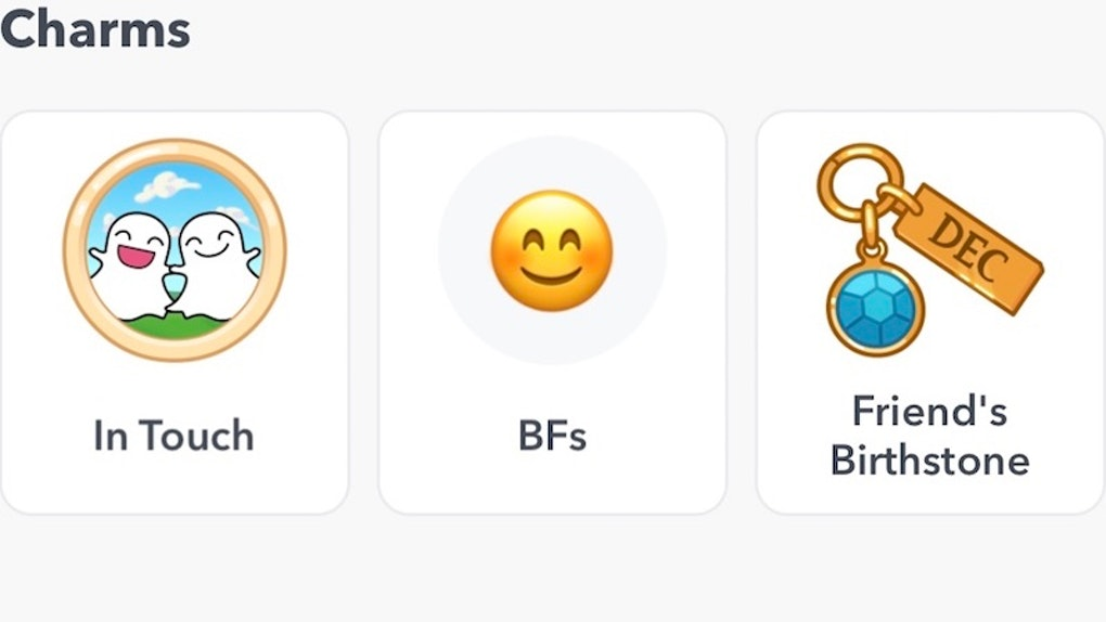 What Are Snapchat Charms? The New Friendship Profile Feature