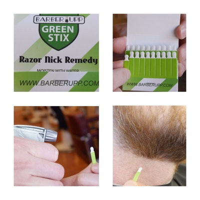 BARBERUPP Styptic Stick Shave Accessories (3 Pack)