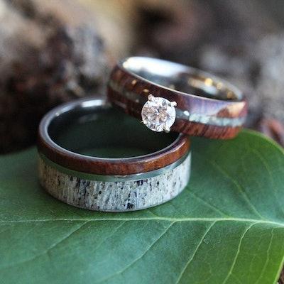 Rustic Bridal Set