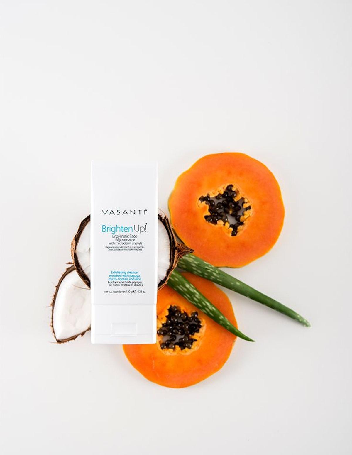 VASANTI Exfoliating Face Wash