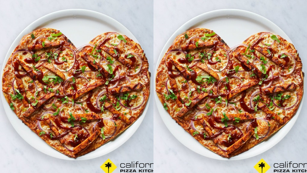 California Pizza Kitchen S Heart Shaped Pies For Valentine S