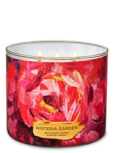 Wisteria Garden 3-Wick Candle