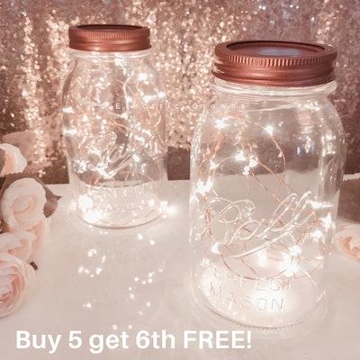 Mason Jar Fairy Lights