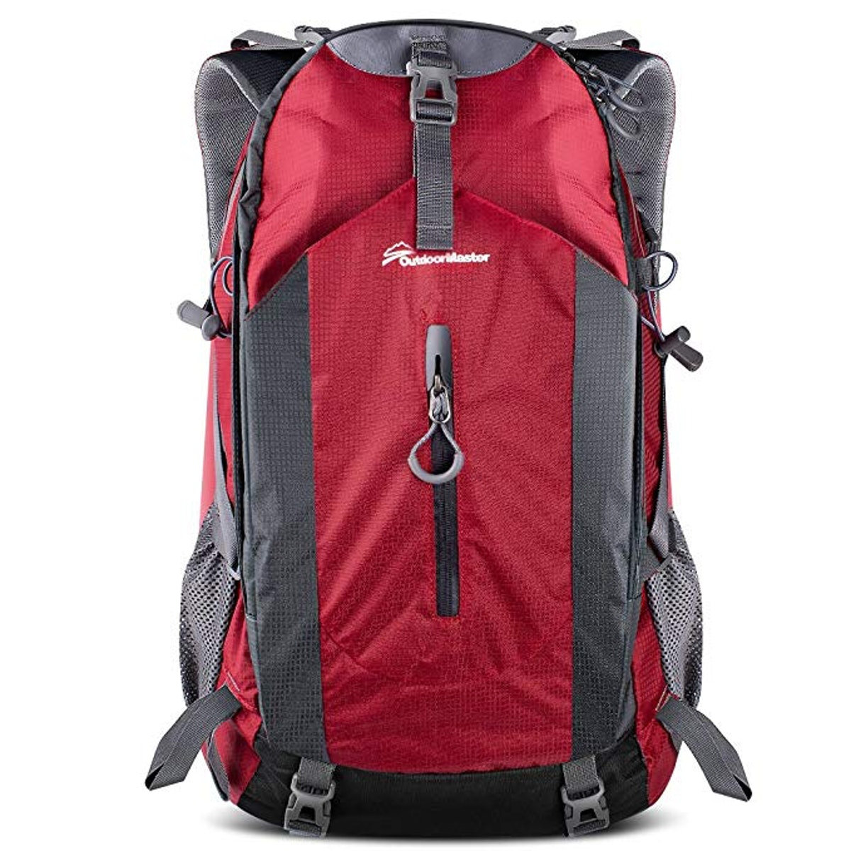 Outdoor Master Hiking Backpack With Waterproof Rain Cover