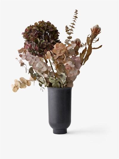 Cyclades Vase, Large/Black