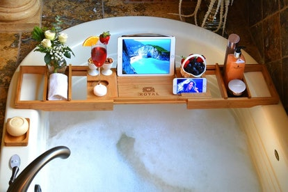 Royal Craft Wood Luxury Bathtub Caddy