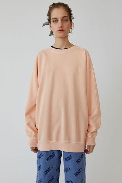 Crewneck Sweatshirt Pale Orange