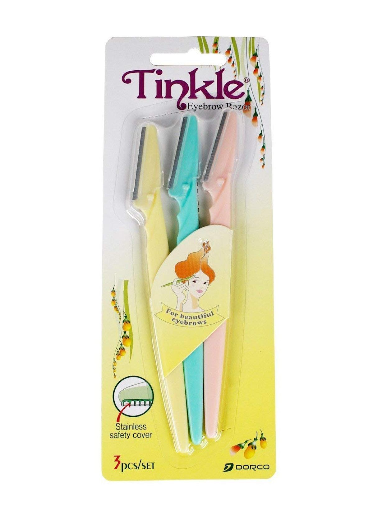 Tinkle Eyebrow Razors (3 Pack)