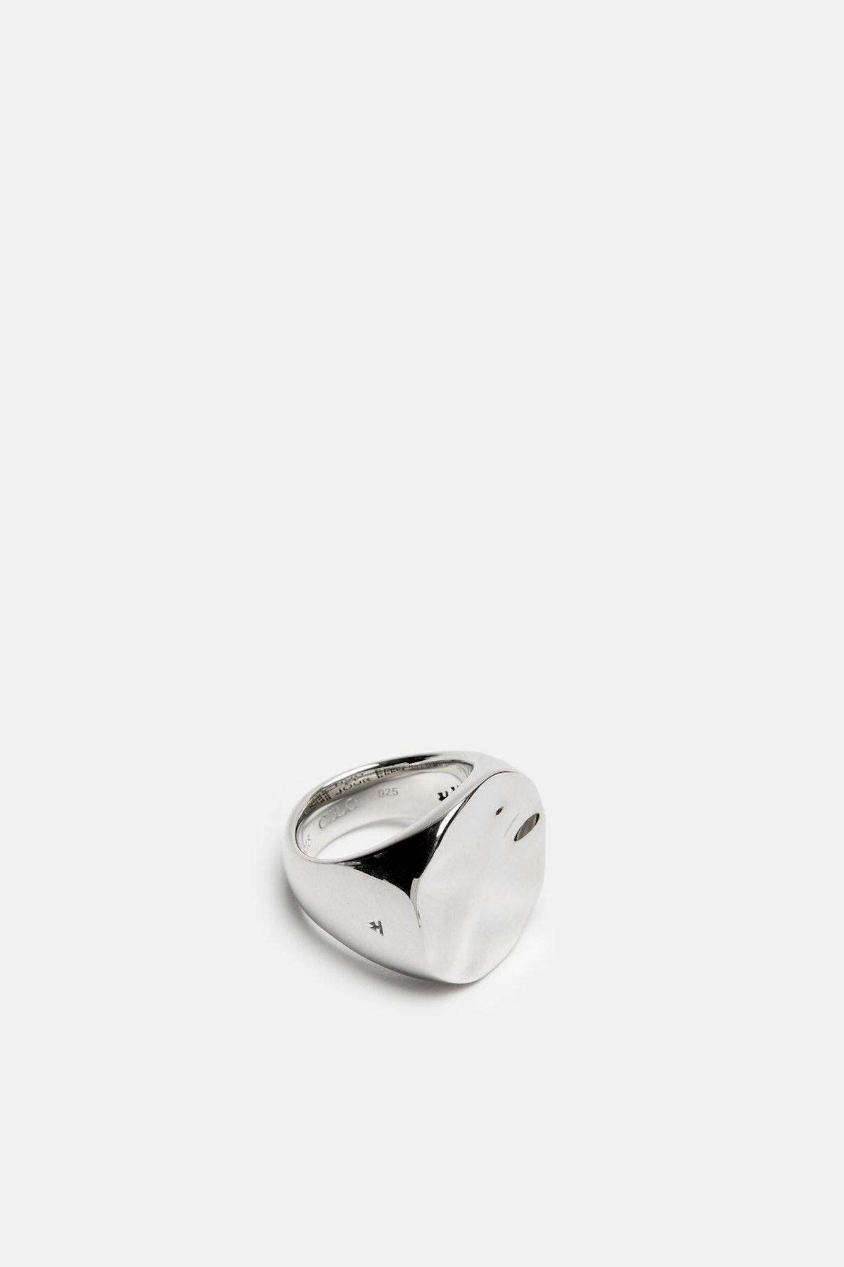 Wavy Circle Ring