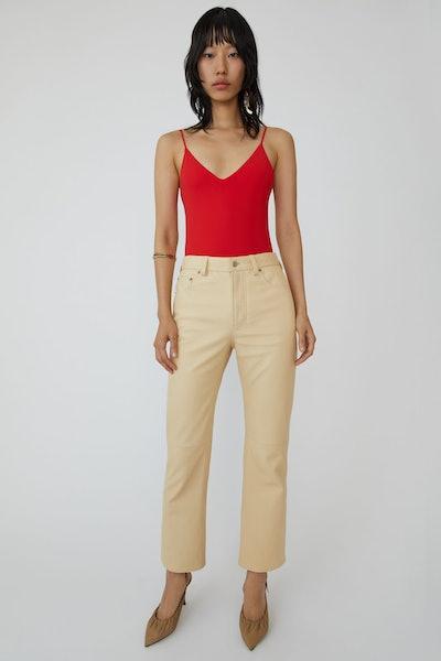 Five Pocket Trousers Wheat Beige