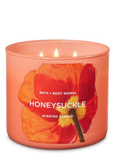 Honeysuckle 3-Wick Candle