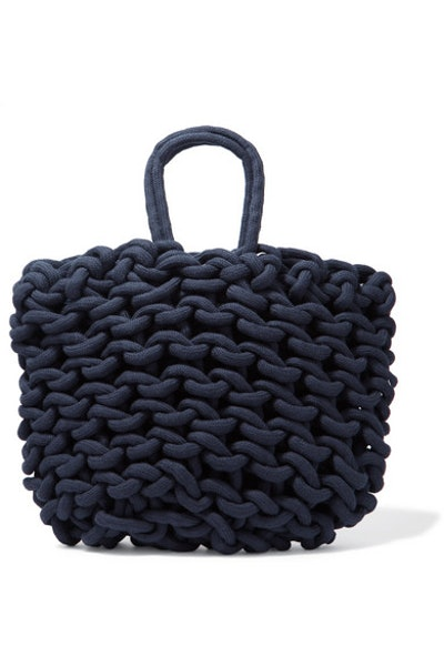 Agata Woven Cotton Tote