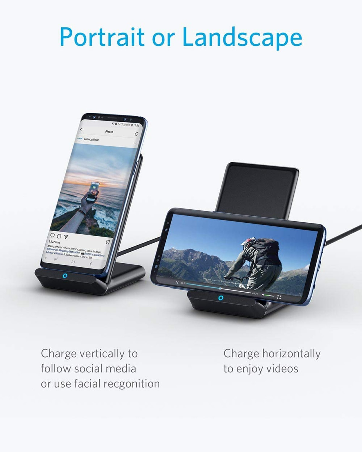 Anker Wireless Charger Stand