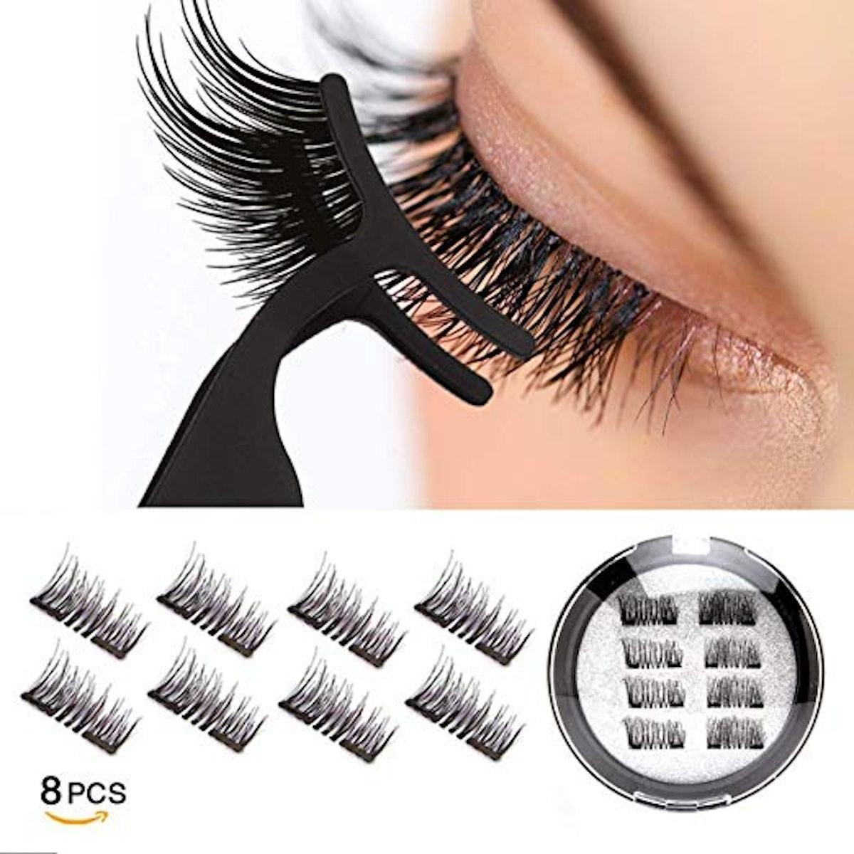 VASSOUL Magnetic Eyelashes (8 Count)