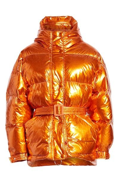 Michlin Hooded Down Puffer Coat