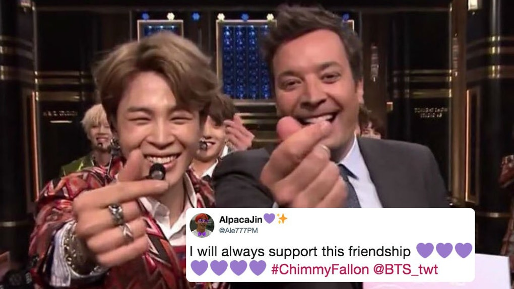 Are BTS' Jimin & Jimmy Fallon Friends? Their Relationship