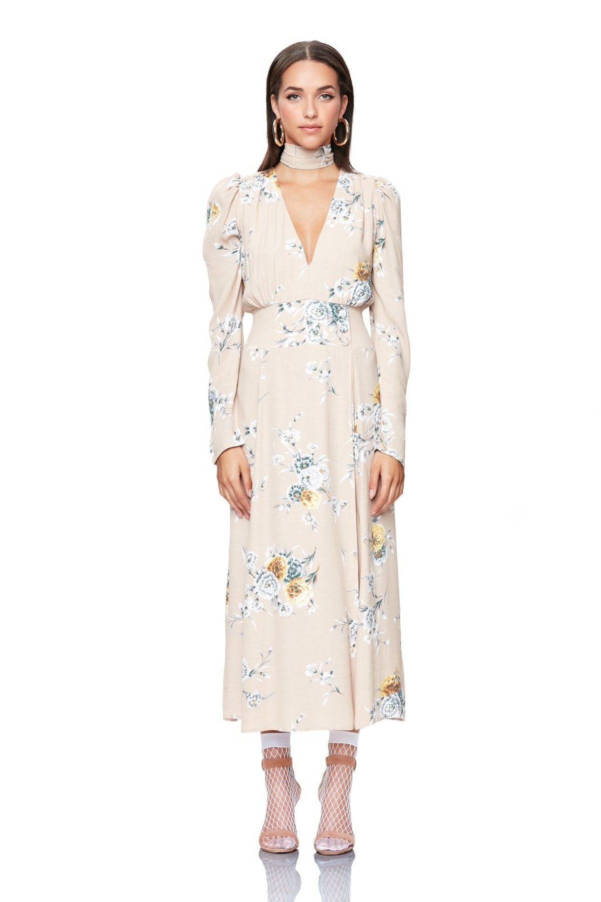 Quinn Wrap Midi Dress