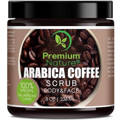 Premium Nature Coffee Body Scrub