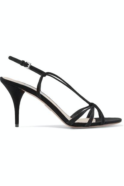 85 Suede Slingback Sandals