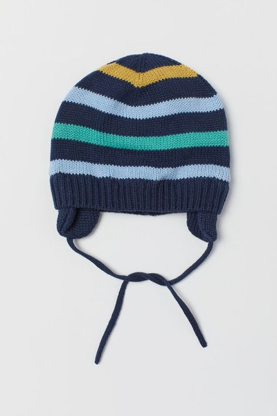 Knit Cotton Hat