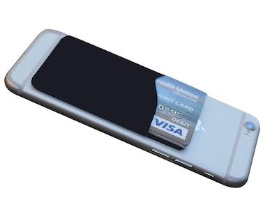Agentwhiteusa Adhesive Wallet