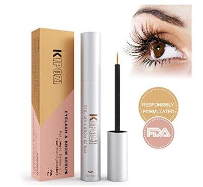 KIPOZI Eyelash Growth Serum And Brow Enhancer
