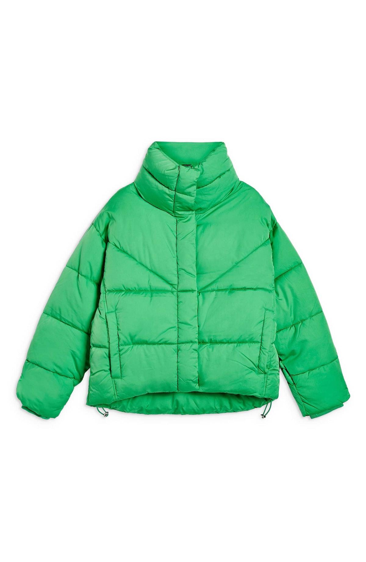 Meghan Cropped Puffer Jacket